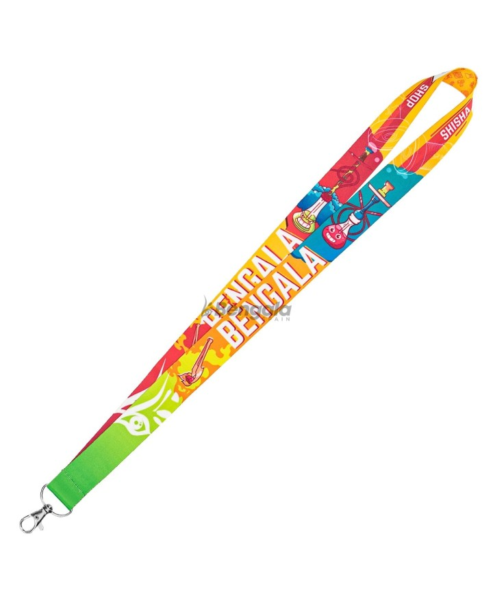 LANYARD BENGALA SPAIN COLOR STYLE