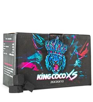 CARBÓN KING COCO XS FLAT 1KG